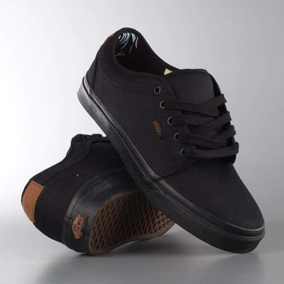 56a5b47160 Vans Chukka Low all Black Aloha Twill Brand New.  M 5c63bec3c9bf50d5fb952313. Other Shoes ...